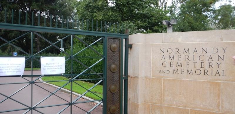 fermeture (provisoire) du cimetière Américain Dscn3712