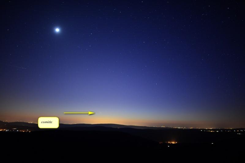 comète panstarrs  Pansta12