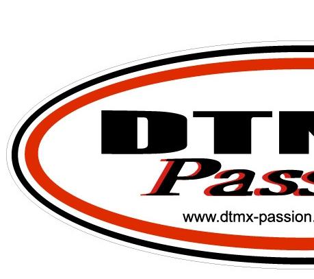 """Production d'autocollants """"Dtmx Passion"""" Oval10"""