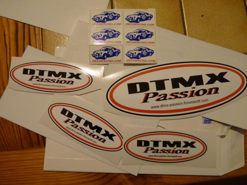 """Production d'autocollants """"Dtmx Passion"""" P1060535"""