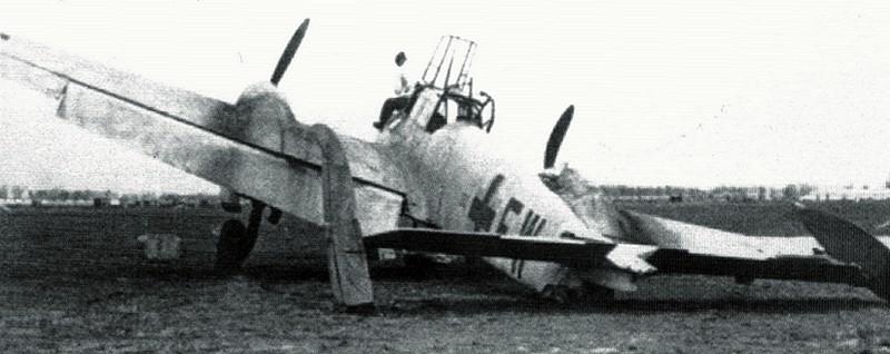 recherche de documentation sur la chasse de nuit roumaine  Bf110-10