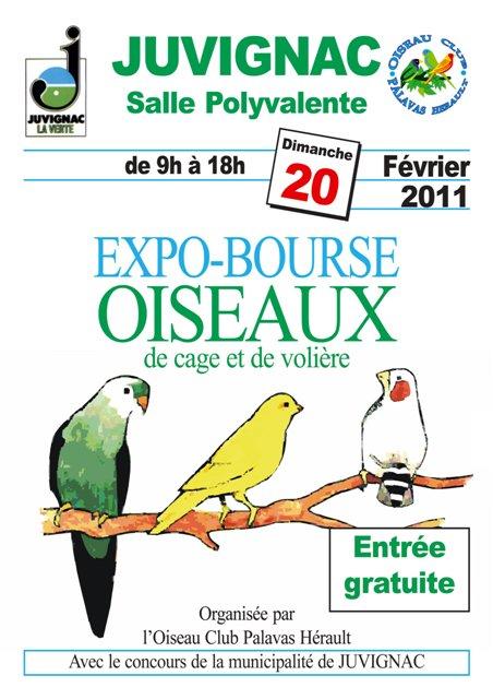EXPO BOURSE  JUVIGNAC Affich11