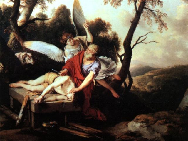 Dieu a t'il demandé à Abraham de lui sacrifier son fils ? Abraha10