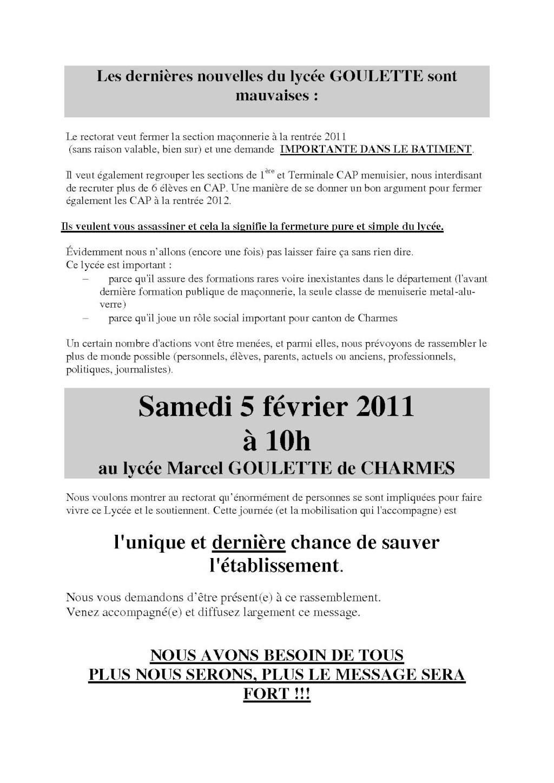 le 5 février devant le LP M. GOULETTE de Charmes Docume10