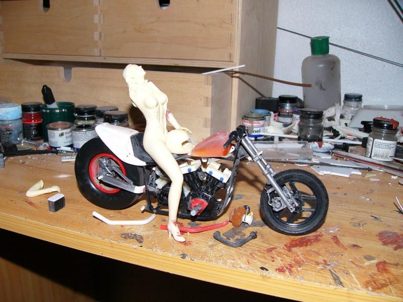 mustang 1/12 + moto A_drag12