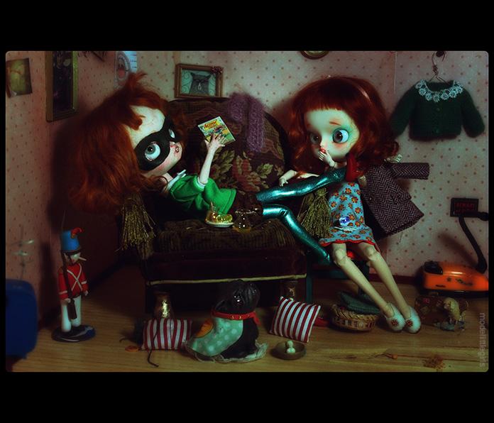 Les Petites Filles Modèles - Saturday afternoon Marcel20