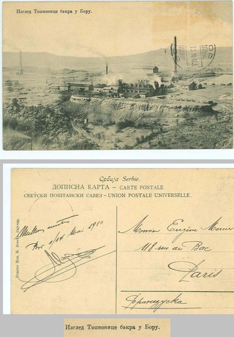 Identification Cpa de Serbie en 1910 0110
