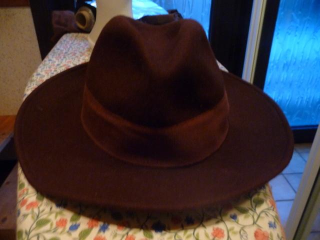 Transformation de mon chapeau fedora 00110
