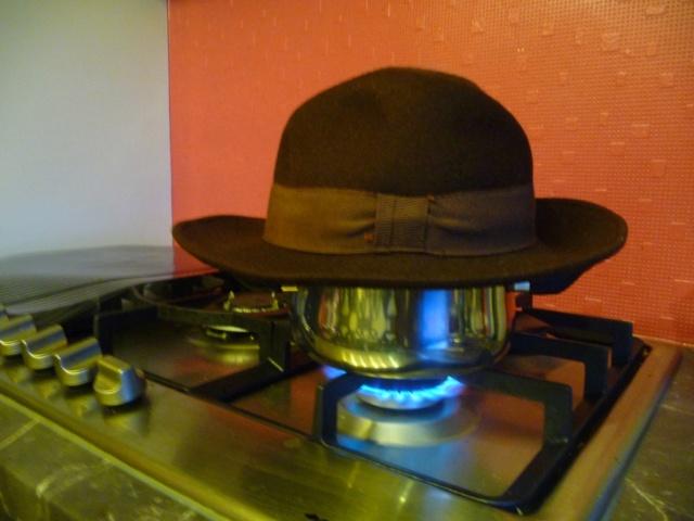 Transformation de mon chapeau fedora 00410