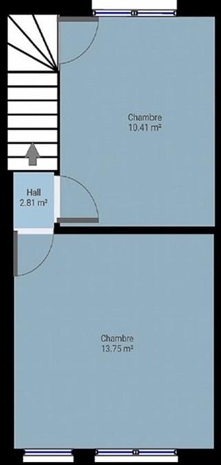 Transformer les 2 chambre actuelles Chambr12