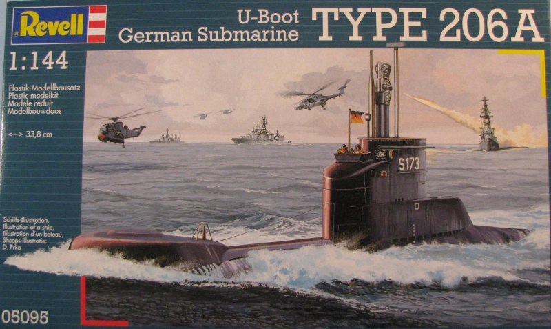 U-Boot type 206A, Revell 1/144 Photo_74