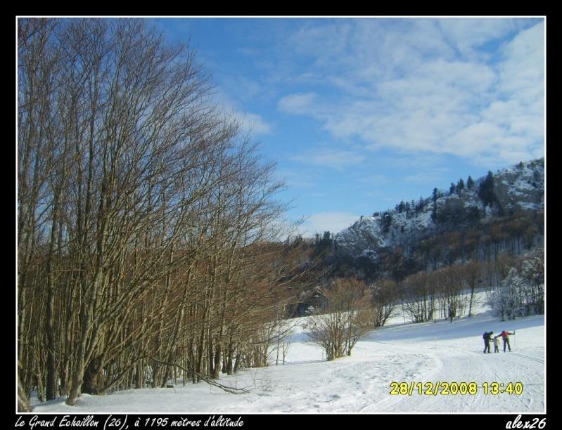 Le Grand Echaillon (26), à 1200 mètres d'altitude Dacemb93
