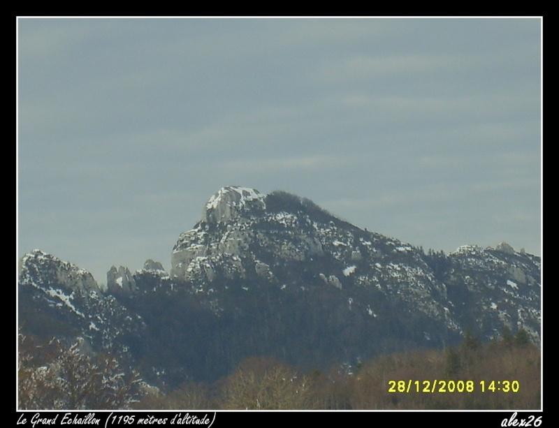 Le Grand Echaillon (26), à 1200 mètres d'altitude Dacemb99
