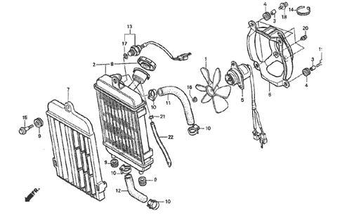 Comment vidanger circuit refroidissement 315r Pompe_10