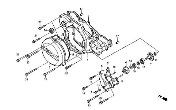 Comment vidanger circuit refroidissement 315r Pompe_11