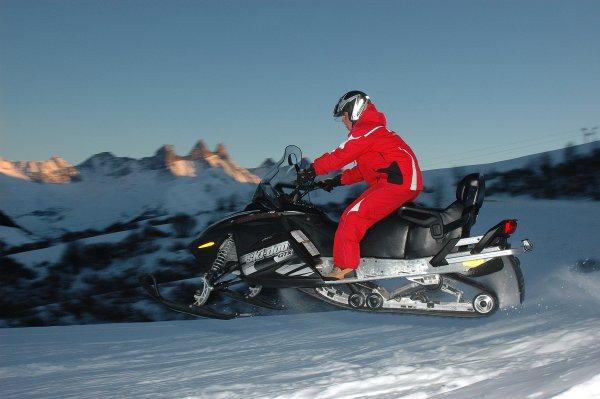 Trial parts sous la neige Scoote10
