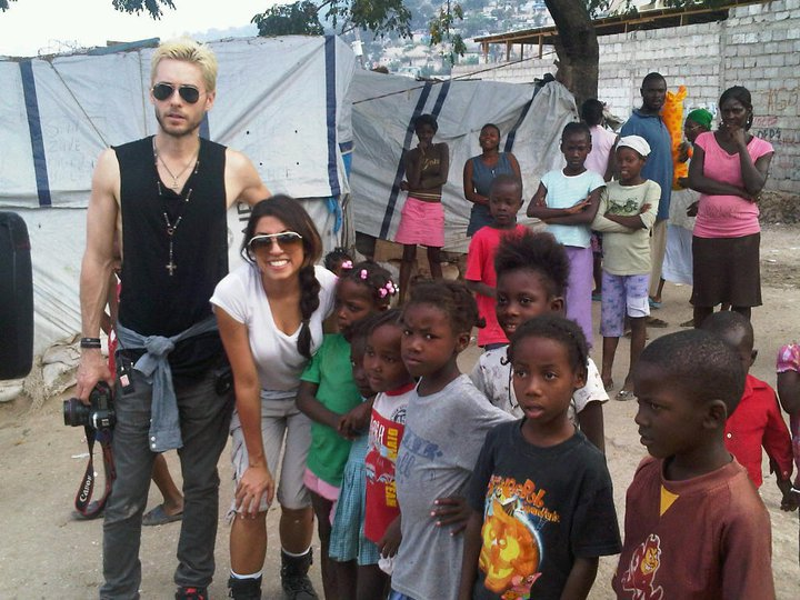 Jared Leto / Haiti Documentary PROMO 00313