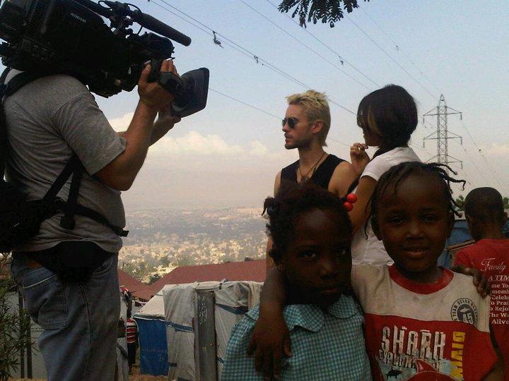Jared Leto / Haiti Documentary PROMO 00411