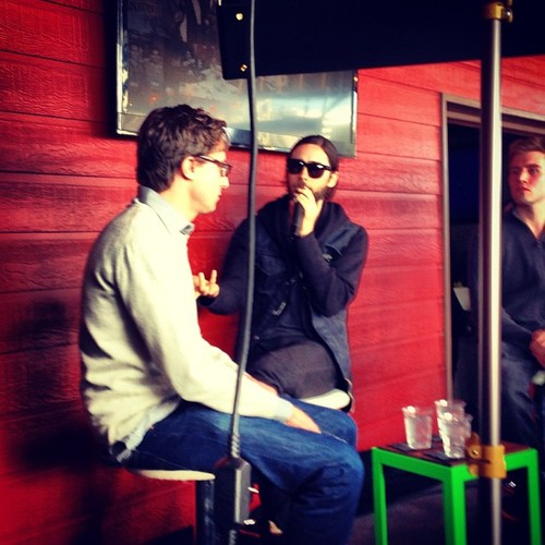 Jared Leto speaking at Fast Company grill 12 mars 2013  00711