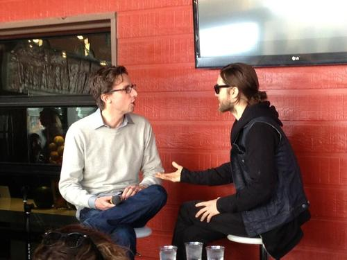 Jared Leto speaking at Fast Company grill 12 mars 2013  03410