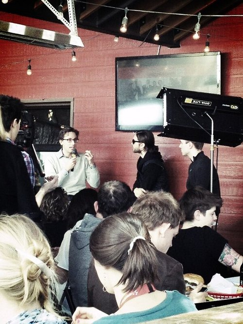 Jared Leto speaking at Fast Company grill 12 mars 2013  03710
