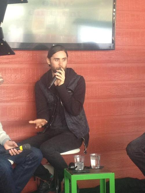 Jared Leto speaking at Fast Company grill 12 mars 2013  03810