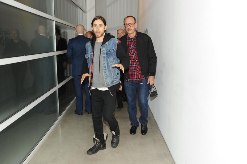 21 février 2013 - Jared à la GAGOSIAN GALLERY - Opening of Richard Prince Jared_15