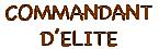 Commandant d'Elite Flemmard
