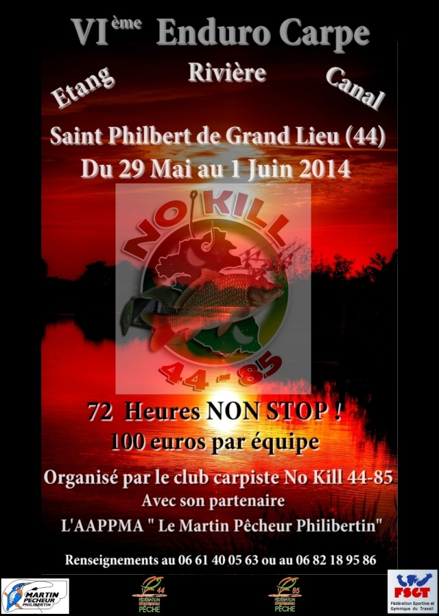 Enduro Carpe sur Saint Philbert de Grand Lieu Affich11