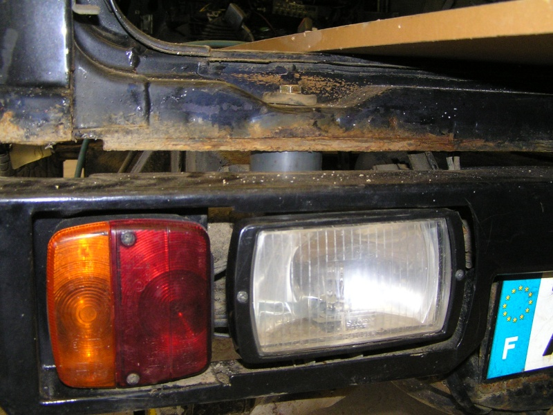 kit body lift suzuki samurai  fabrication maison  P1290014