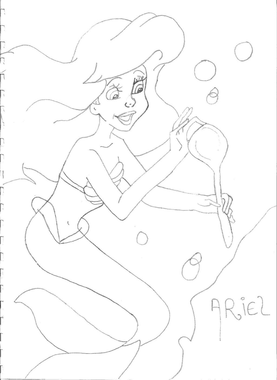 Dessins sur Ariel de StéphAriel Docume12