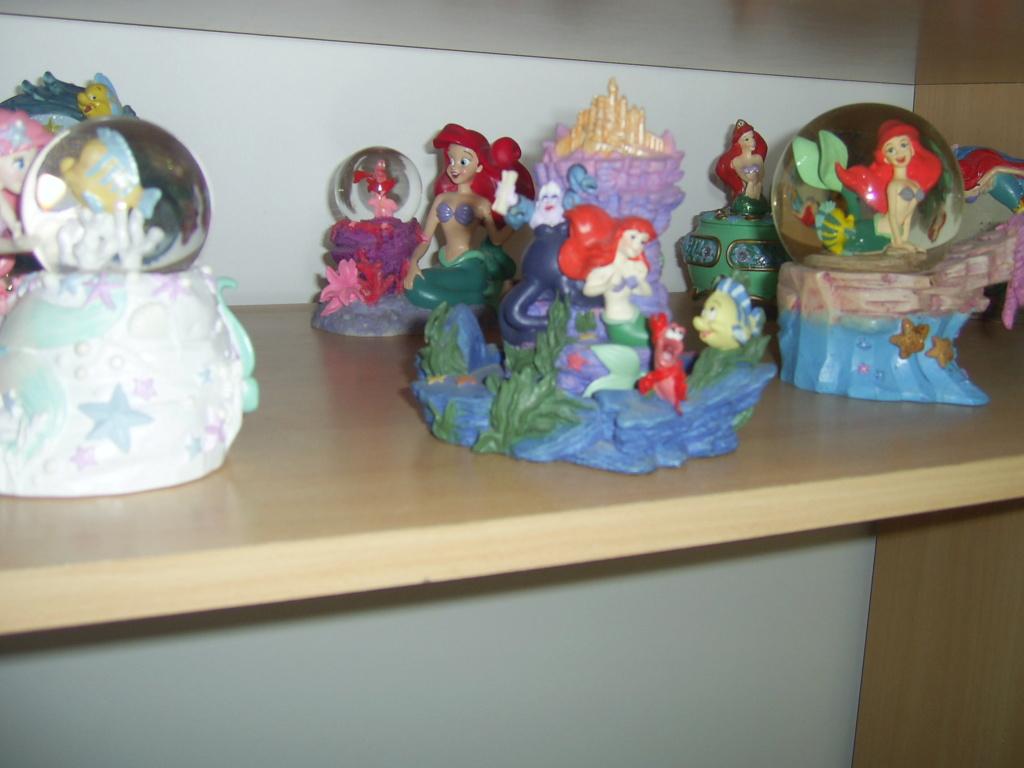 Collection Figurines et Boules à Neige Ariel Pic_0119