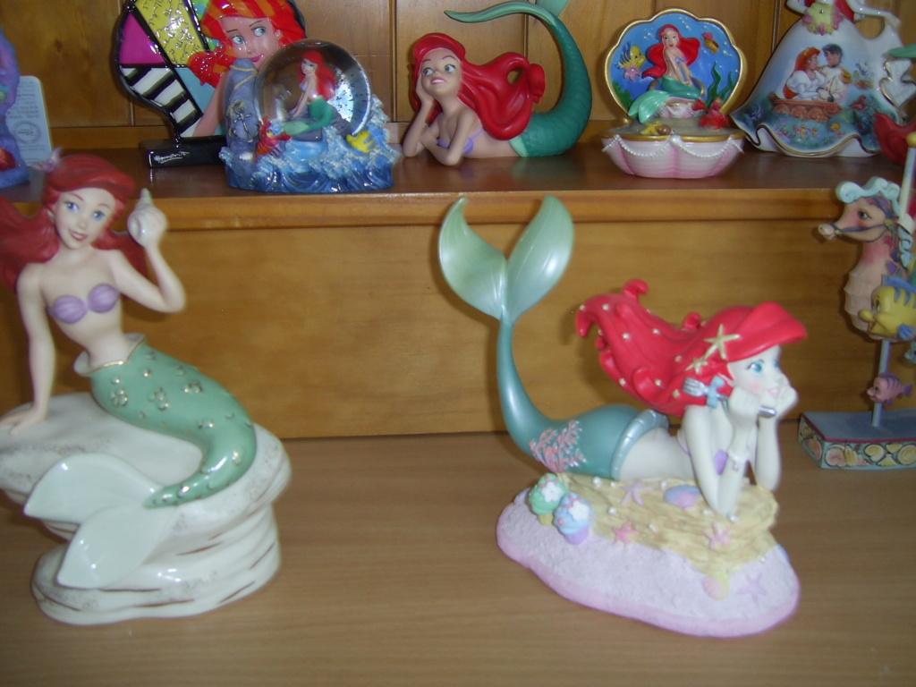 Collection Figurines et Boules à Neige Ariel Pic_0122