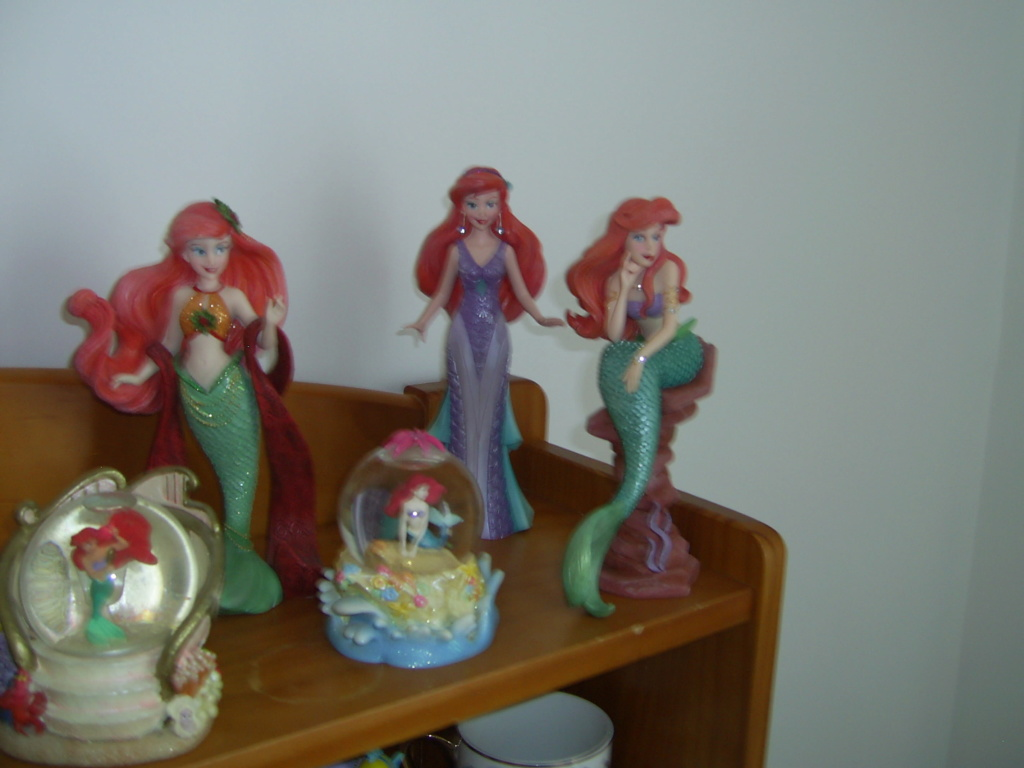 Collection Figurines et Boules à Neige Ariel Pic_0127