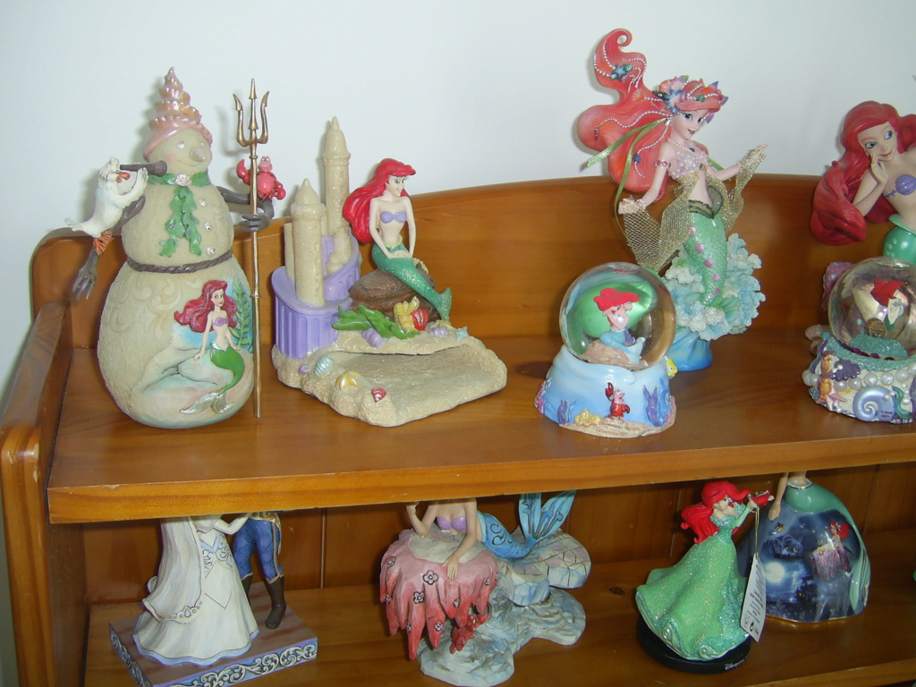 Collection Figurines et Boules à Neige Ariel Pic_0129