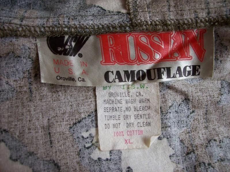 Red Dawn/Rambo III Russian Movie Camo Suit - Page 2 100_5411