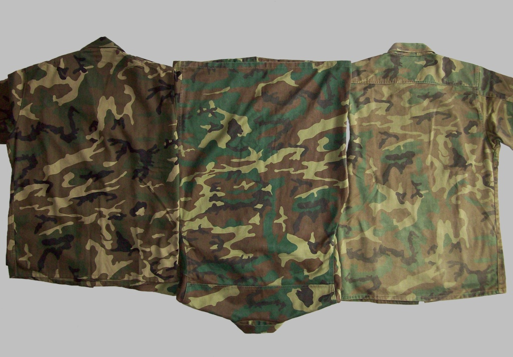"Various Spanish Army ""Woodland"" uniforms 100_8210"