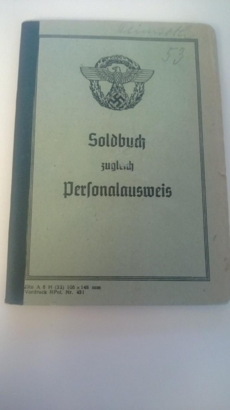 Soldbuch Polizei ! Mon premier ! Wp_20124