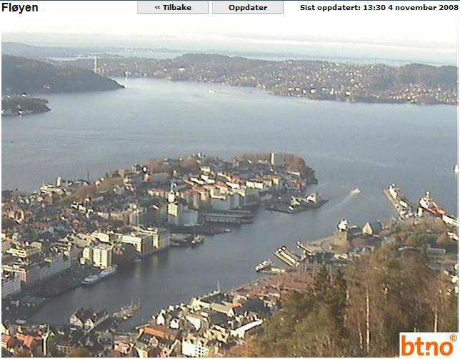 Photos en live des ports dans le monde (webcam) Bergen10