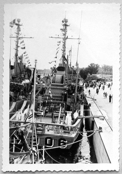 Des navires de la ZM-FN à Bruxelles en 1958 Forcen10