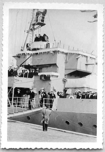Des navires de la ZM-FN à Bruxelles en 1958 Forcen11