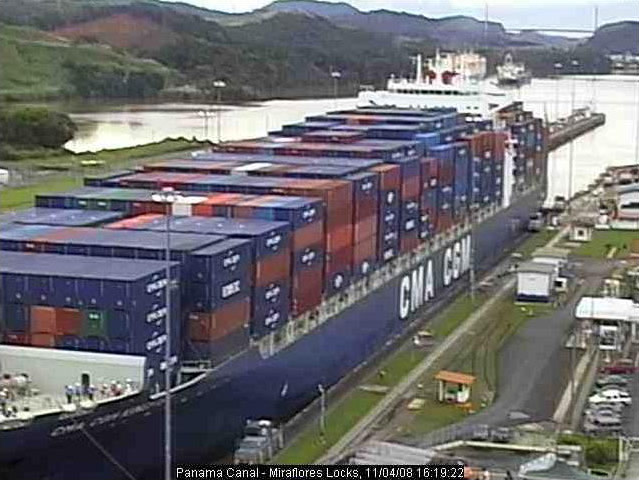 Photos en live des ports dans le monde (webcam) Panama11