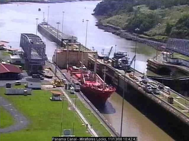 Photos en live des ports dans le monde (webcam) - Page 3 Panama19