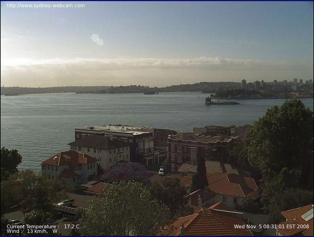 Photos en live des ports dans le monde (webcam) Sydney10