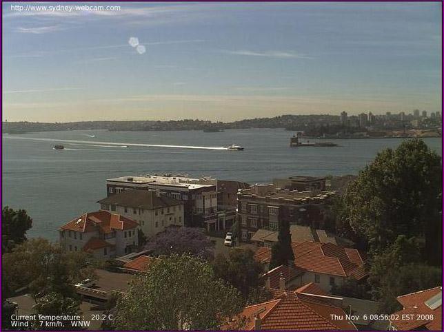 Photos en live des ports dans le monde (webcam) - Page 2 Sydney11