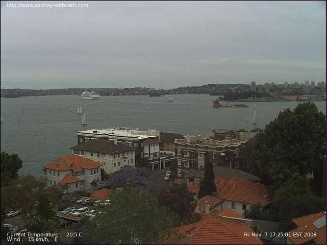 Photos en live des ports dans le monde (webcam) - Page 2 Sydney12