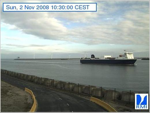 Photos en direct du port de Zeebrugge (webcam) Zeebru10
