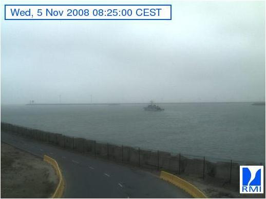 Photos en direct du port de Zeebrugge (webcam) Zeebru15