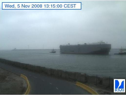 Photos en direct du port de Zeebrugge (webcam) Zeebru16