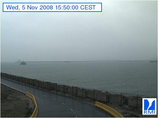 Photos en direct du port de Zeebrugge (webcam) Zeebru17